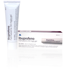 Ibuprofeno Farmasierra 50mg Gel